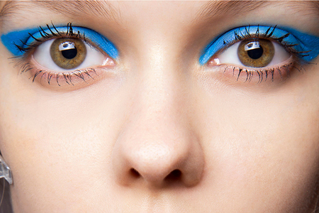 Spring Beauty Trends - Blue Shadow