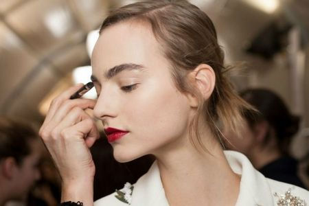 Dior and Glamour, Brows and Lips!