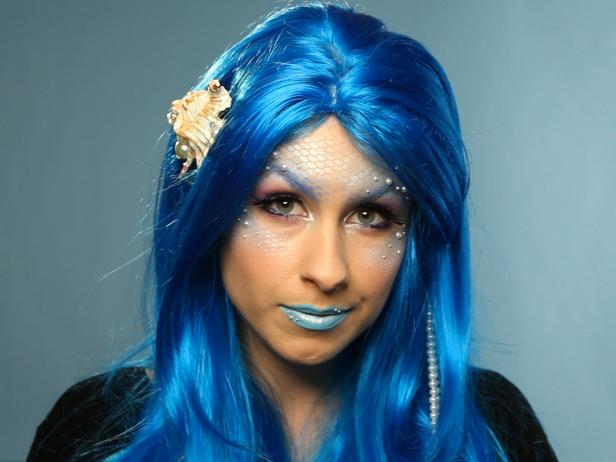 Blink Halloween Mermaid Make Up